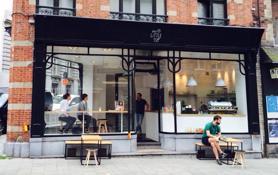 My Little Cup / Rue de la croix de fer Bruxelles / Eetcafé / Restauration by CityPlug.be
